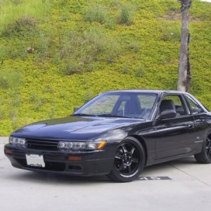 1991 Nissan 240sx S13 front end conversion
